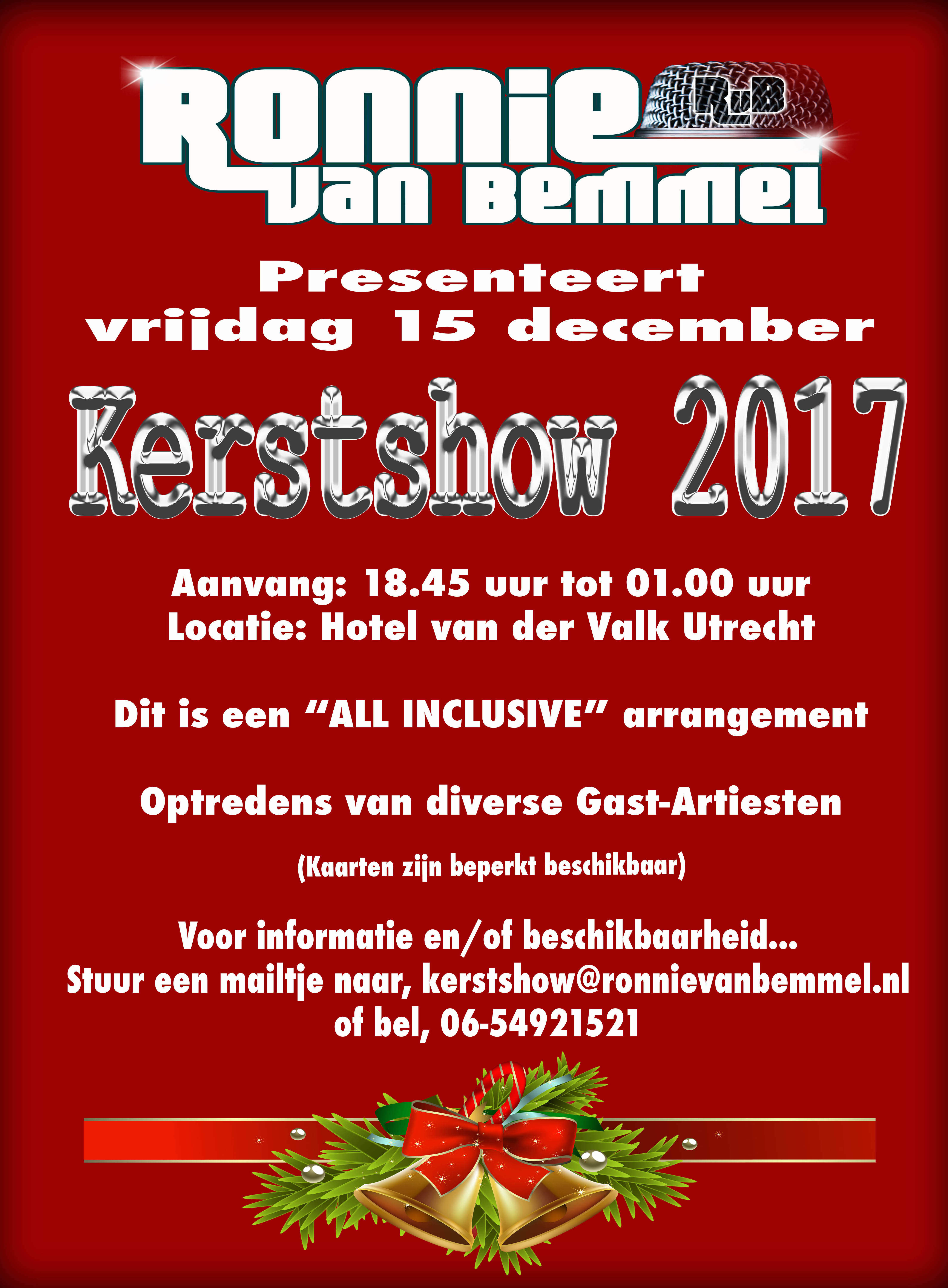 Kerstshow 15 December 2017