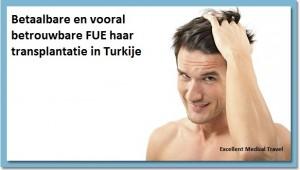 Excellent Haartransplantatie Turkije